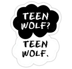 """Teen Wolf - TFIOS "" Stickers by Susanna Olmi 
