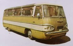 Ikarus 303 Vintage Trailers, Vintage Cars, New Bus, Trucks, Busses, Old Cars, Motorhome, Cars And Motorcycles, Touring