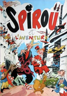 """Spirou et l'Aventure"" Al Severin Les « Spirou » de Jijé (1ère partie) 