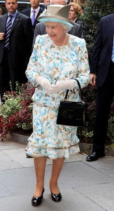 Queen Elizabeth II Photo - The Queen Visits The United Nations In New York