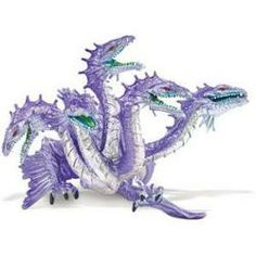Mythical Realms Hydra Dragon Figurine #dragons