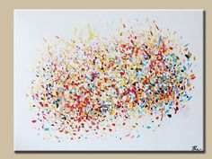 Large Colorful Abstract-ORIGINAL  Abstract Contemporary-modern abstract painting Acrylic abstract
