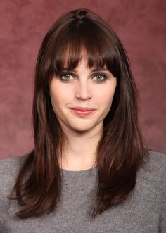 Felicity Jones = 'Winter' << My color twin, similar hair, and eye color, need to find more examples of 'Winter' with hazel eyes. Most of the celebrity examples I see are blue eyed!