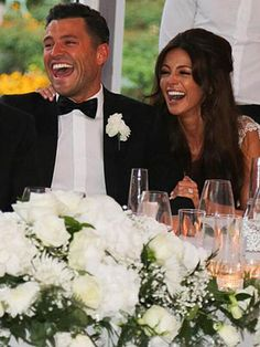 More Mark Wright and Michelle Keegan wedding pictures revealed   OK! Magazine