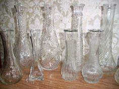 Old vintage antique glassware depression carnival art opalescent