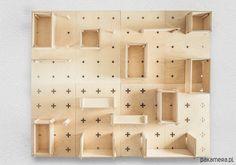System ścienny XO Collective to zestaw funkcjonalnych paneli ściennych i półek wykonanych ze sklejki. W łatwy sposób pozwala uporządkować przestrzeń zarówno biura, kuchni, przedpokoju jak i pokoju dziecięcego. Modułowość paneli i półek pozwala na dowolne ich przemieszczanie w pionie ...