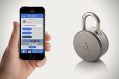 Noke Bluetooth Padlock Transforms Your Smartphone Into A Wireless Key