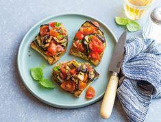 Finger Food Appetizers, Finger Foods, Appetizer Recipes, Pesto, Bruschetta, Vegetable Pizza, Almonds, Ethnic Recipes, Blog