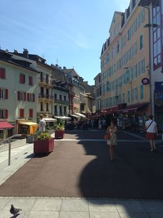 In Evian France