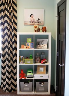 Project Nursery - Rustic Modern Girl Nursery Bookcase