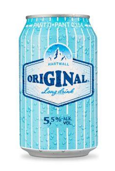 Finnish drink, Lonkero Gin-in-a-tin.