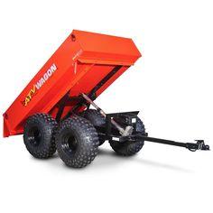 1600 Lb. Capacity Utility Dump Trailer for ATV/UTV
