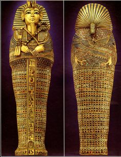 The smile that lasted 3,000 years - King Tut's mummy goes on display for first…