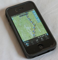 How to use the iPhone 4 as a GPS mapping device for backpacking | Adventure Alan's Ultralight Backpacking http://adventurealan.com/iphone4gps.htm#