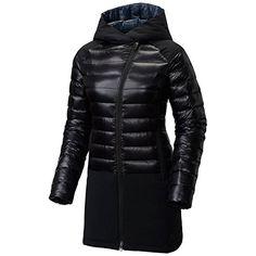 Mountain Hardwear 1667031 Womens ZeroGrand Funnel Parka Black  L ** For more information, visit image link. (Note:Amazon affiliate link) #Parkas