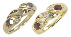 Ruby and Diamond ring makeover
