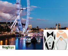 London eye - flip flop wedding!