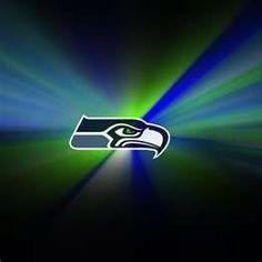 SEAHAWKS!! fly over their heads Hawks !!