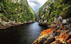 27. Tsitsikamma National Park in South Africa's Eastern Cape is relatively unknown to tourists. It is where Storms River meets the South Atlantic and Indian Oceans, and is a great spot for kayaking and scuba diving.