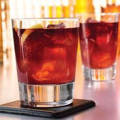 Velvet Elvis-    2 oz Jack Daniel's Tennessee Whiskey  1 oz Chambord Black Raspberry Liqueur  2 oz sweet and sour    Shake ingredients with ice and strain into a martini glass. Garnish with a lemon twist..