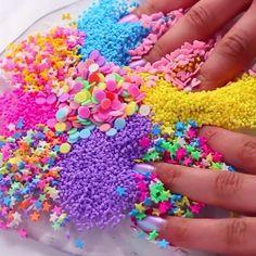 Crafts For Kids, Arts And Crafts, Diy Crafts, Recipe Holder, Slime Shops, Slime Asmr, Slime Recipe, Diy Slime, Squishies