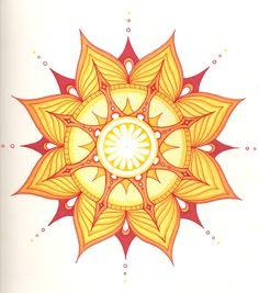 Fire Mandala by Wikidtron.deviantart.com on @deviantART