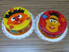 Bert and Ernie Birthday Cakes by CAKE Amsterdam - Cakes by ZOBOT, via Flickr