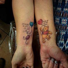 "3,433 Likes, 294 Comments - Disney Tattoos Worldwide (@disneytattooart) on Instagram: ""Mom & daughter tattoos done by @joshpalmerta2 from Fullerton CA! Go follow @joshpalmerta2…"""