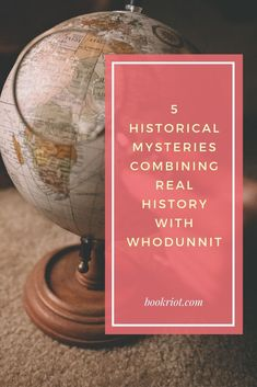 Get your history and your mystery in one book.   book lists | mystery books | mysteries | historical fiction | historical nonfiction | history books | historical mysteries