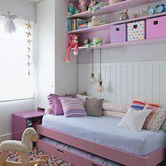 decoraçao de quarto de menina pequeno - Pesquisa Google