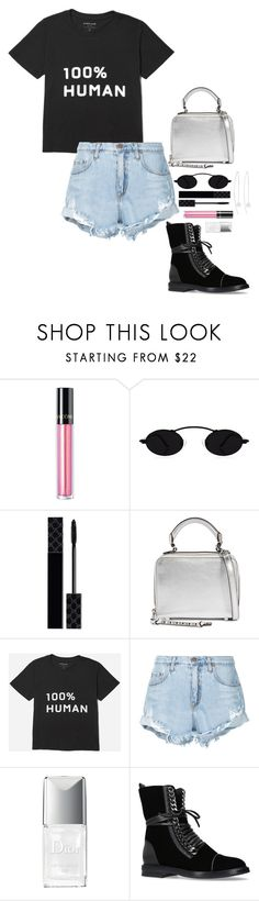 """""""▪️▪️▪️"""" by beautyinl ❤ liked on Polyvore featuring Lancôme, Gucci, Rebecca Minkoff, Everlane, Nobody Denim, Christian Dior, Casadei and Chan Luu"""