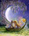 Josephine wall: wisteria moon