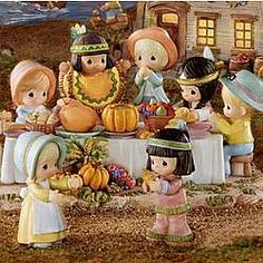 "I found 'Precious Moments ""First Thanksgiving"" Village Collection' on Wish, check it out! Thanksgiving Blessings, First Thanksgiving, Thanksgiving Crafts, Pilgrims Thanksgiving, Vintage Thanksgiving, Precious Moments Quotes, Precious Moments Figurines, Autumn Scenes, Arte Disney"