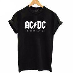 AC//DC Womens Rock Or Bust Lyrics Tank Top