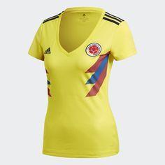 adidas Camiseta Selección Colombia Local - Amarillo | adidas Colombia