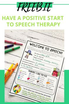 Are you looking to learn more about the students that come to see you for speech therapy? Adventures in Speech Pathology is all about engaging children in the therapy process and building rapport so that speech therapy can start off positively. Get this free printable with Adventures in Speech Pathology and add it to your back tp school materials. Articulation Therapy, Speech Therapy Activities, Phonological Processes, My Teacher, Speech And Language, Positivity, Speech Pathology, Free Printable, Students