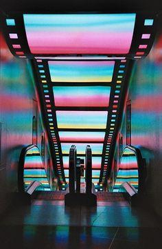 Themed Escalator - Film and Cinema