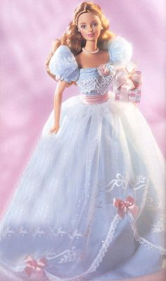 2000 Barbie® Doll | BIRTHDAY WISHES Series Collection 3rd in series (blue)