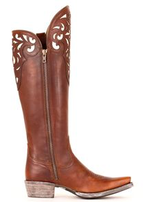 holy gorgeousness-Ariat Hacienda Boot in Vintage Caramel