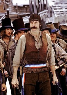 Daniel Day Lewis, Gangs of New York, dir. Martin Scorsese