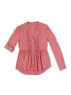 Camisa Feminina Em Viscose Com Pregas | Camisas | Feminino | Hering