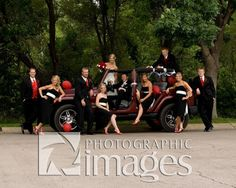 Jeep Wrangler Unlimited - great prop for the groomsmen and bridesmaid shots!
