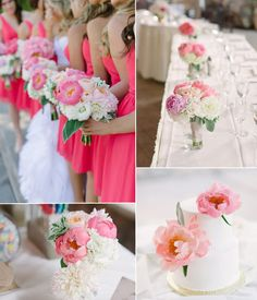 Work the Peony  According to Pantone radiant orchid is the colour of the year and although we're not denying that, we think it would be a nice idea to introduce the colour more subtly into your wedding such as adding actual peonies into your bouquet or table decorations.