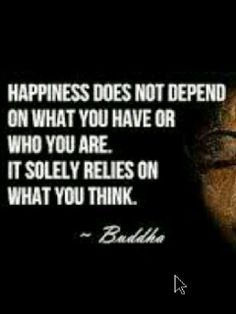 Think positively...