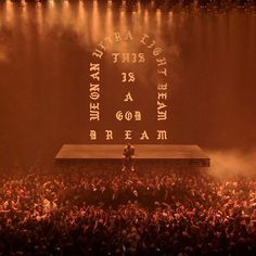 """720 Likes, 13 Comments - Yeezys For All (@yeezysforall) on Instagram: """"We on that ultra light beam. Kanye West's Saint Pablo Tour. - #yeezysforall #yeezyboost…"""""""