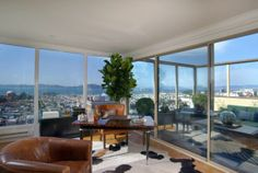 wall of windows in san francisco luxury home for sale #SFLuxuryRealEstate www.LisaVRealty.com
