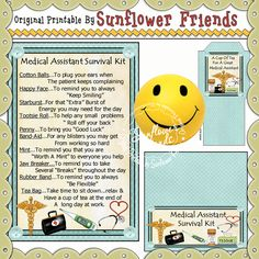 Medical Assistant Survival Kit   http://sunflowerfriends.com/shop/index.php?main_page=products_new