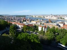 Danube River Cruise Ship    ||  DerTour Mozart   ||  Budapest, Hungary - City view from Buda  ||  140510