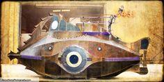 Nautilus car created by Sean Orlando et.al, work in progress.