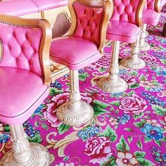 💞the Madonna Inn💞 Photo by Rose Colored Glasses, Beautiful Mess, Candy Colors, Bar, Girls Night, Colorful Interiors, Madonna, Pretty In Pink, Hot Pink